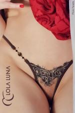 String Natacha - String Lola Luna, composition sensuelle et érotique esprit haute couture.