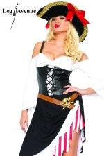 Costume sexy Pirate - Le Pirate au féminin, gare à l'abordage !