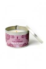 Bougie de massage Fruits de la Passion - Bougie de massage parfum Fruits de la Passion fabriquée en France pour des moments sensuels.