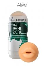 Masturbateur masculin oral - Alive - Un super masturbateur pour vivre une expérience de fellation hyper réaliste.