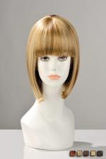 Perruque China Doll - Perruque naturelle : le grand classique du carré à frange impeccable décliné dans plusieurs coloris.