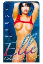 Poupée Elle Celebrity - Une Poupée gonflable sexy et taille réelle avec 3 orifices.