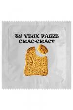 Préservatif humour - Crac Crac - Préservatif   Crac Crac , un préservatif personnalisé humoristique de qualité, fabriqué en France, marque Callvin.