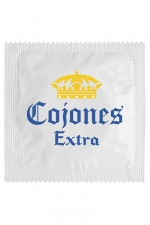 Préservatif humour - Cojones Extra - Préservatif  Cojones Extra , un préservatif personnalisé humoristique de qualité, fabriqué en France, marque Callvin.